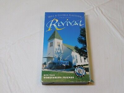 Bill & Gloria Gaither Present Revival with their Homecoming Friends VHS Video Ta, used for sale  Vero Beach