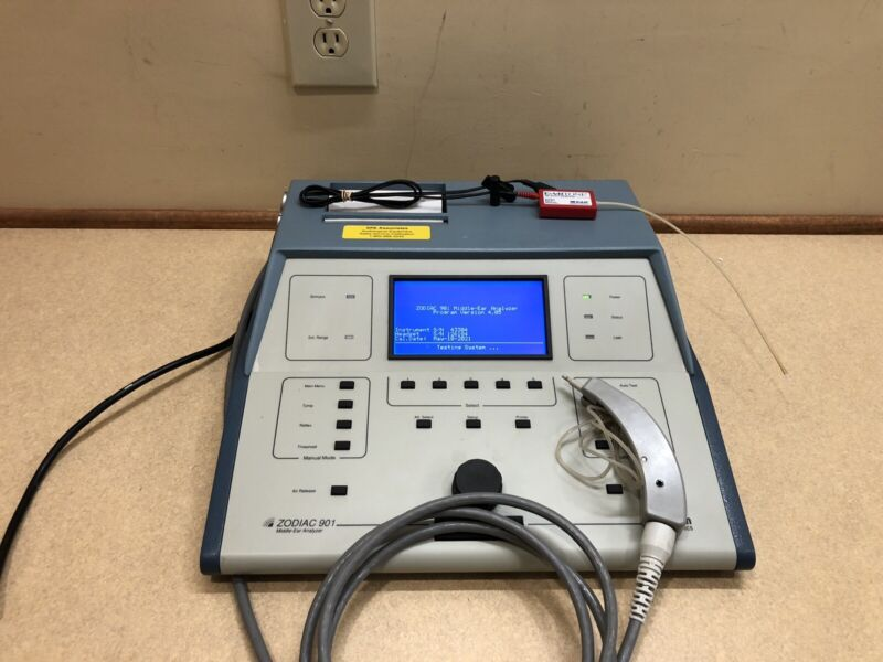 Madsen Zodiac 901 Tympanometer (IPSI&CONTRA) w/ NEW Calibration