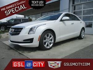 2016 Cadillac ATS Sedan 2.0L Engine, All Wheel Drive, Automatic