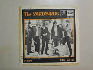 YARDBIRDS-Little-Games-2-20-Puzzles-Sweden-7-034-Columbia-EMI-8165-PSL-w-Jeff-Beck