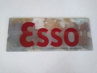 Vintage ESSO Glass Pump Insert Original.
