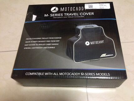 Motocaddy M series electric buggy travel cover Inala Brisbane South West Preview