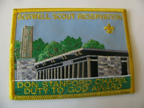BSA Boy Scout  Boxwell Scout Reservation Lebanon TN Patch NOS New  Free Shipping