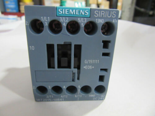 Siemens 3RT2015-1BB41 Contactor 3P 20A 24VDC Coil NEW!!! with Free Shipping