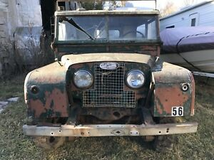 Land Rover Series parts for sale 1948-74
