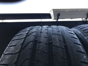 Perelli P07 tires    245/35/20       75% tread