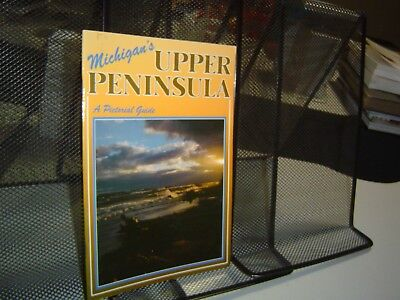 Michigan S Upper Peninsula A Pictorial Guide 1988 Booklet Color Photographs