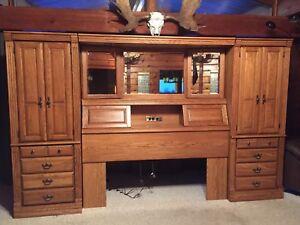 Palliser solid oak bedroom furniture