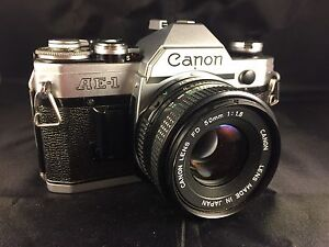 CANON AE1  - 35mm Film (Students get discount)