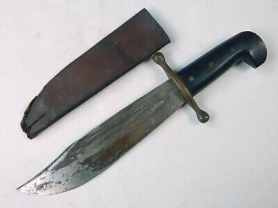 US WW2 Case XX Large Bowie Fighting Knife w/ Sheath
