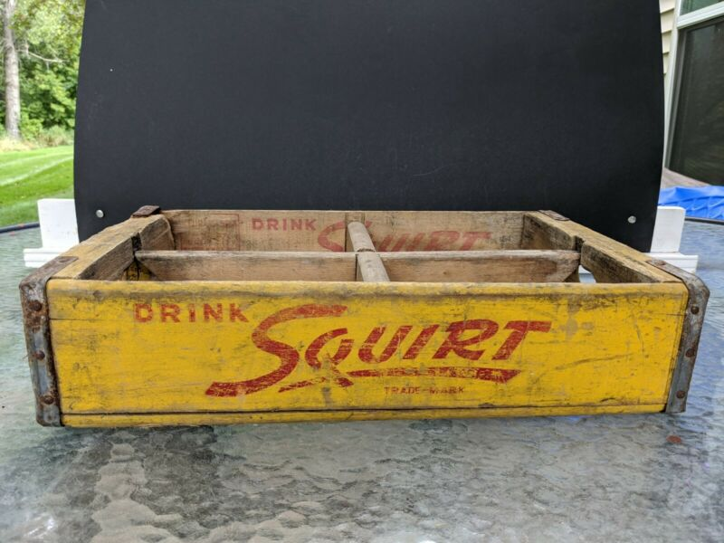 Squirt Wood Soda Crate