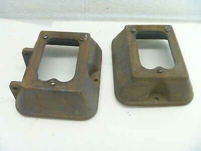 Atlas Craftsman Lathe Bed Risers Block Stand Feet L3-150r L3-150l As Is