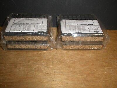 Mason Anti Vibration Isolation Pad 4 X 4 X 1 Neoprene Cork Qty.4