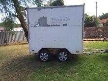 Dual axel custom made enclosed box trailer. Wollongong 2500 Wollongong Area Preview