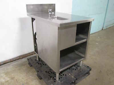 Seelye Craftsman Hd Commercial S.s. Service Countertable Wwash Sink Faucet