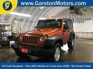 2011 Jeep Wrangler Sport 4WD*CRUISE CONTROL*TRACTION CONTROL*FOG