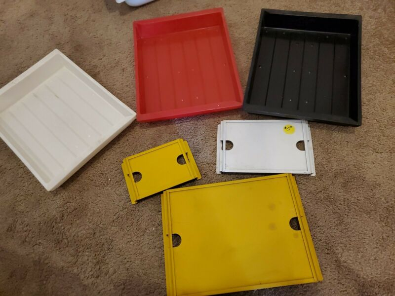 Set Of 3 11x9 Darkroom Printing Trays