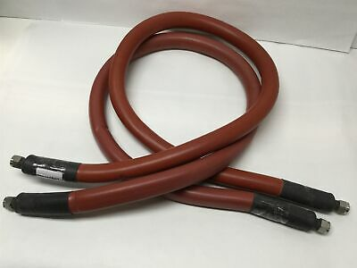Pair Of Thermo Scientific 333-0294 Insulated Ss Bath Circulator Hose Tube 1.5m