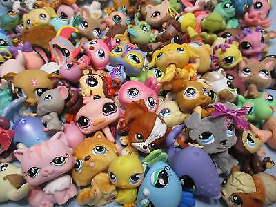 Littlest Pet Shop Mixed Lot 15 Pcs Surprise Random Figures (w/ 1 Dog) Authentic
