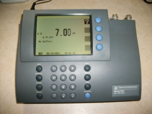 Denver Instrument 225 pH-ISE Meter in good used condition