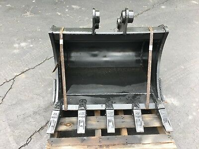 New 30 Heavy Duty Excavator Bucket For A Hyundai R35 W Coupler Pins