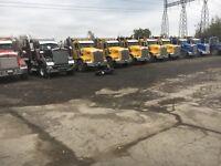 Hiring Dump truck drivers