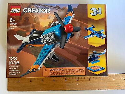 LEGO~CREATOR~PROPELLER PLANE~3in1~128pcs~NEW
