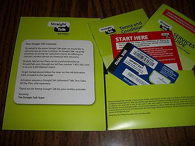 SIM- карты Straight Talk AT&T Micro/Standard