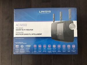 Brand New Linksys AC3200 Smart Wifi Router