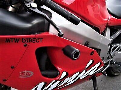 R&G Racing PAIR CLASSIC CRASH PROTECTORS for Kawasaki ZX7R P6-P7 2001-2002