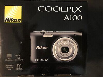 Nikon Coolpix A100 20MP Digital Camera (Black) Model