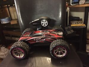 The Land Buster Remote control car