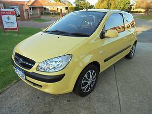2010 Hyundai Getz Hatchback Maddington Gosnells Area Preview