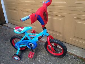 Kids Bike! Spiderman