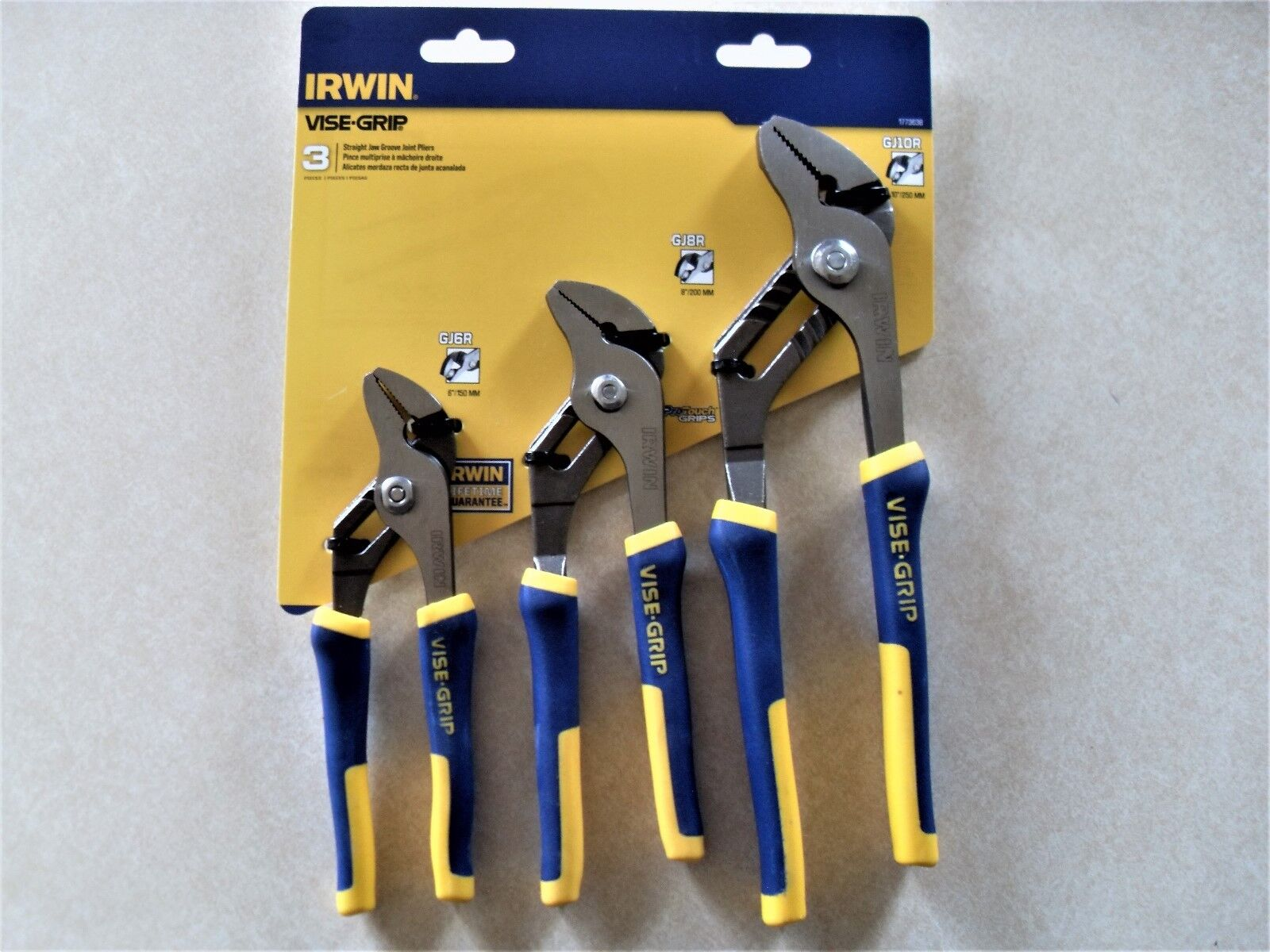 Irwin Tools 1773638 Vise-Grip Groove Joint Set 3-Piece