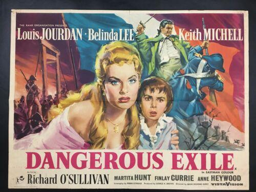 Dangerous Exile Original UK Quad Poster