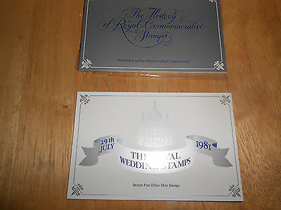 1981 Royal Wedding Stamps and History of Royal Wedding Stamps Booklet GB - MINT