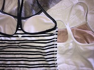 Lululemon tank tops. Hardly Worn
