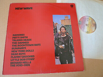 NEW WAVE LP Vertigo 6300 902 RAMONES DAMNED NEW YORK DOLLS DEAD BOYS VOID-OIDS