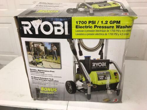 Ryobi 1700psi Electric Pressure Washer