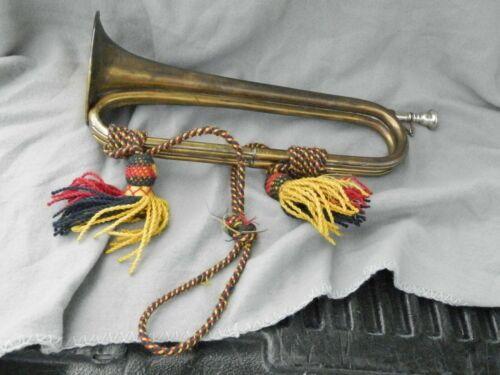 Vintage Henry Potter & Co Makers London Brass 1936 Bugle