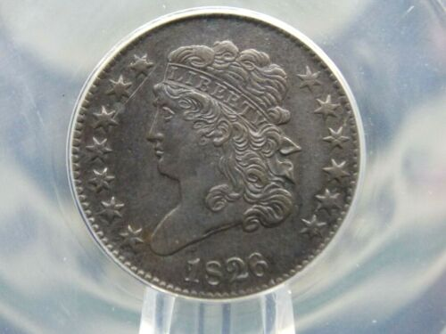 1826 Classic Head Half Cent 1/2c ANACS XF45 Details ECC&C, Inc.