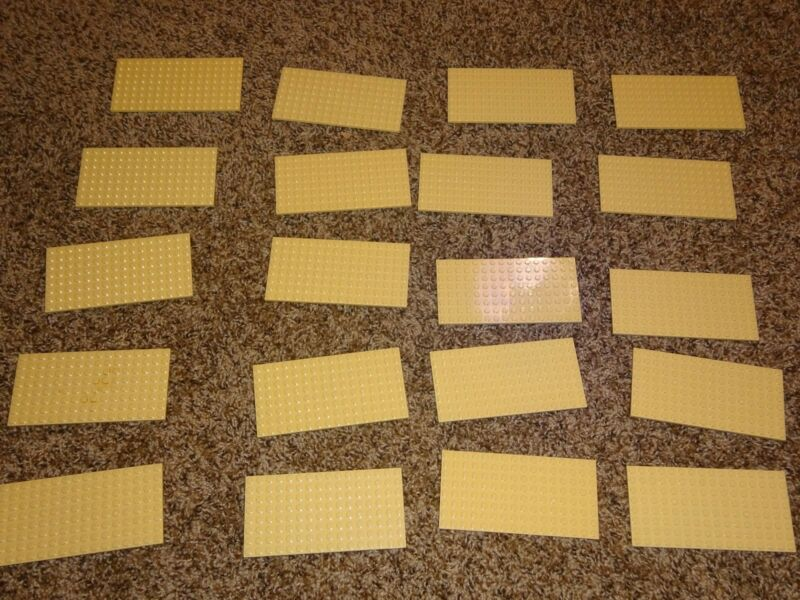 Lego Base Plate Lot of 5 Blue 8x16 Friends Style baseplates baseplate lot