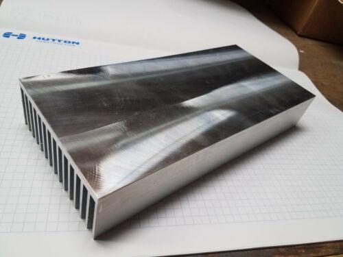 "4.600"" Wide Machined Extruded Aluminum Heatsink 10"" Long"