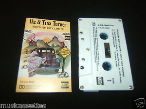 IKE-TINA-TURNER-NUTBUSH-CITY-LIMITS-AUSTRALIAN-CASSETTE-TAPE