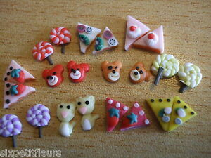 Fimo-3D-nail-decorations-wheel-CAKE-BEAR-LOLLY-Nail-art-cardmaking-TS