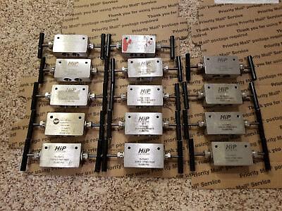 9 Hip 15-15af2 3-way Two Stem Taper Seal Valve High Pressure 15000 Psi 18