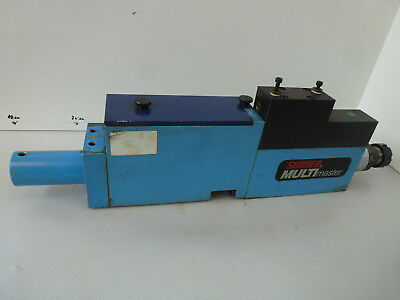 Suhner Bew 12 Multi-master Clamping Tongs Recording Er25 Feed Approx.