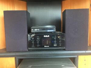 RCA Stereo System, Bluetooth Compatible, CD Player, AM/FM Radio