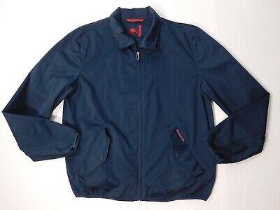 Vtg Robe Di Kappa Barracuda Jacket Men's XL / Large  Navy Blue Casual  Full Zip